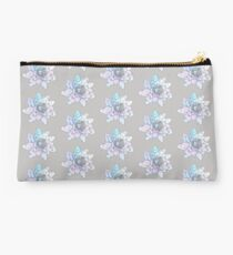 Watercolour Waterlily, Floral Pattern Illustration Studio Pouch