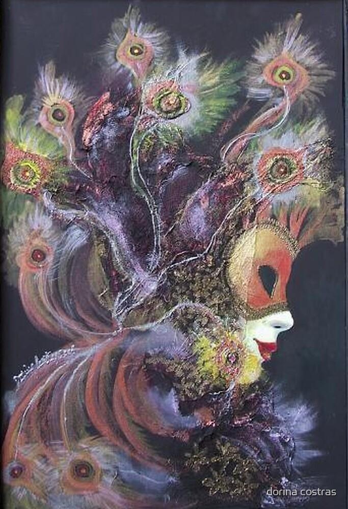 Peacock mask by dorina costras