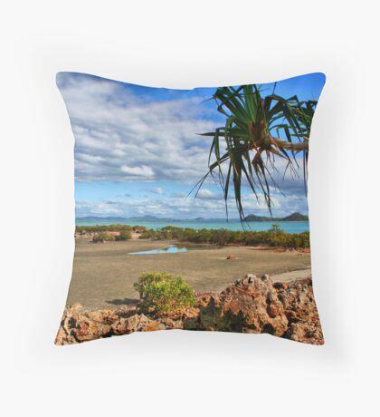 Cape Hillsborough Coast Throw Pillow