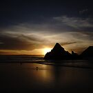 a Sad Sunset at Seal Rock by fototakerTony
