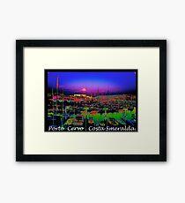 Porto Cervo . Costa Smeralda . by Brown Sugar 2003. Views (667)  thank you ! Framed Print