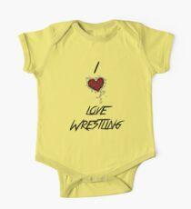 I love wrestling Kids Clothes