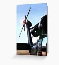 blackhawk Greeting Card