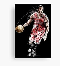 sports shoes f5335 08a6f Derrick Rose Canvas Prints | Redbubble