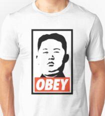 Obey Kim Jong Un Unisex T-Shirt