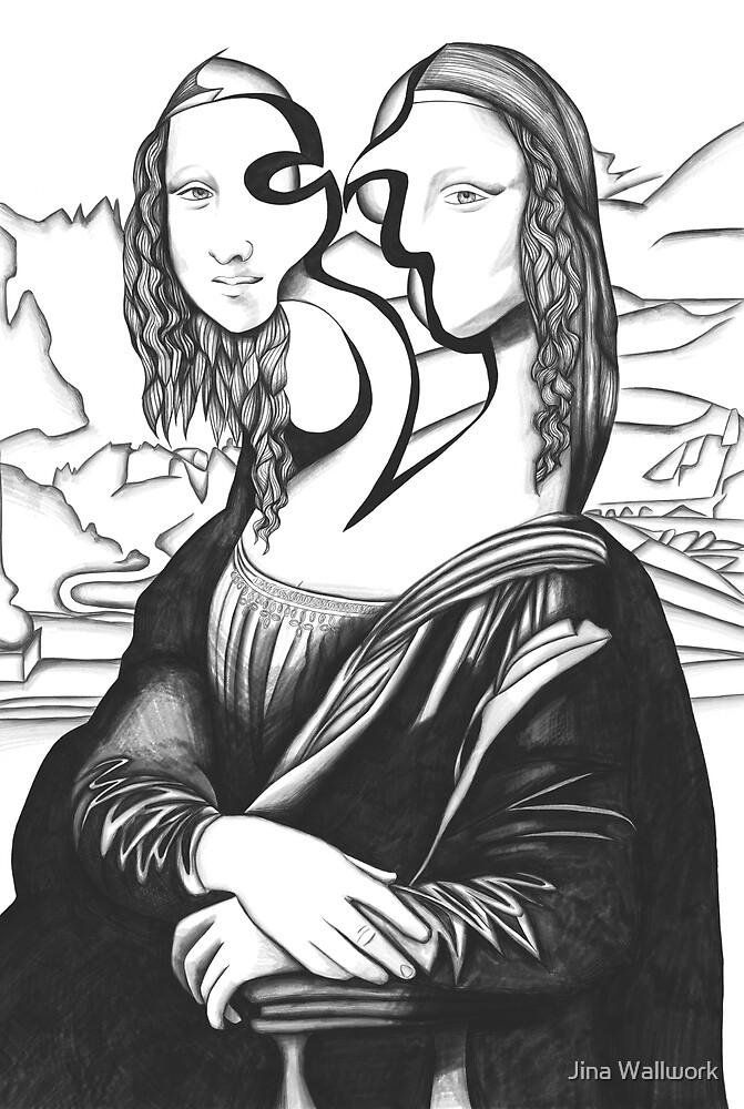 Mona Lisa 77 by Jina Wallwork