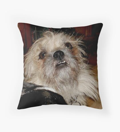 SMILIN' JACK Throw Pillow