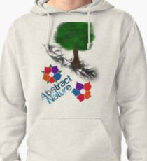 Abstract Nature Pullover Hoodie