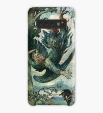 NIGHTINGALE THE ROBBER FELL FROM THE TREE from The Russian Story Book Case/Skin for Samsung Galaxy