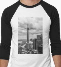 CN Tower Men's Baseball ¾ T-Shirt