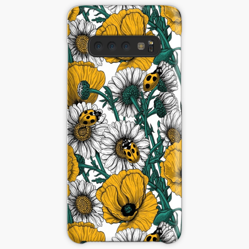 The meadow in yellow Case & Skin for Samsung Galaxy