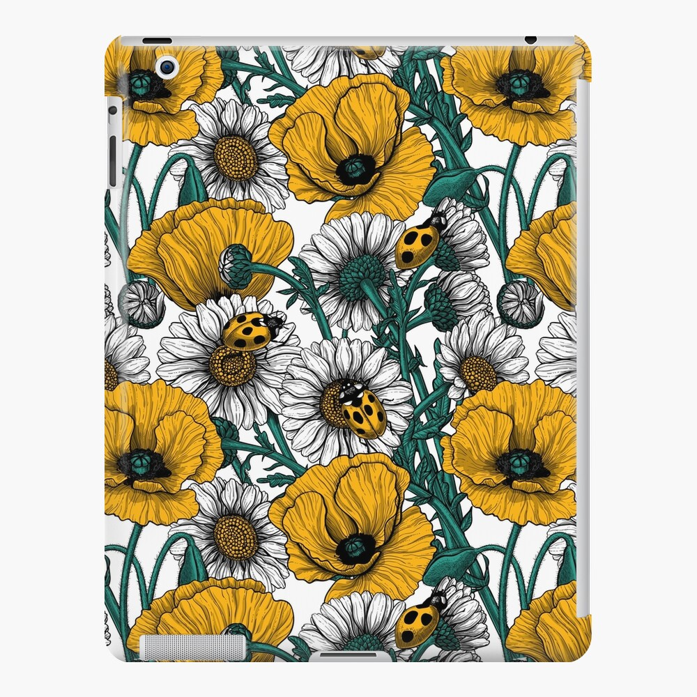 The meadow in yellow iPad Case & Skin