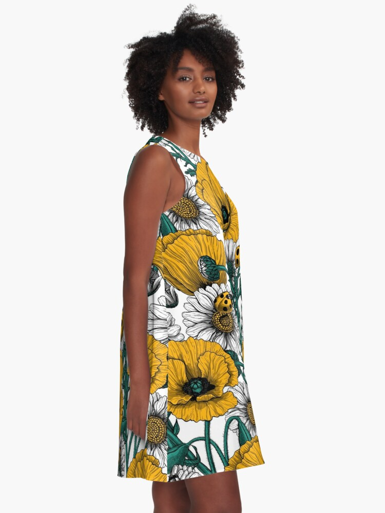 Alternate view of The meadow in yellow A-Line Dress
