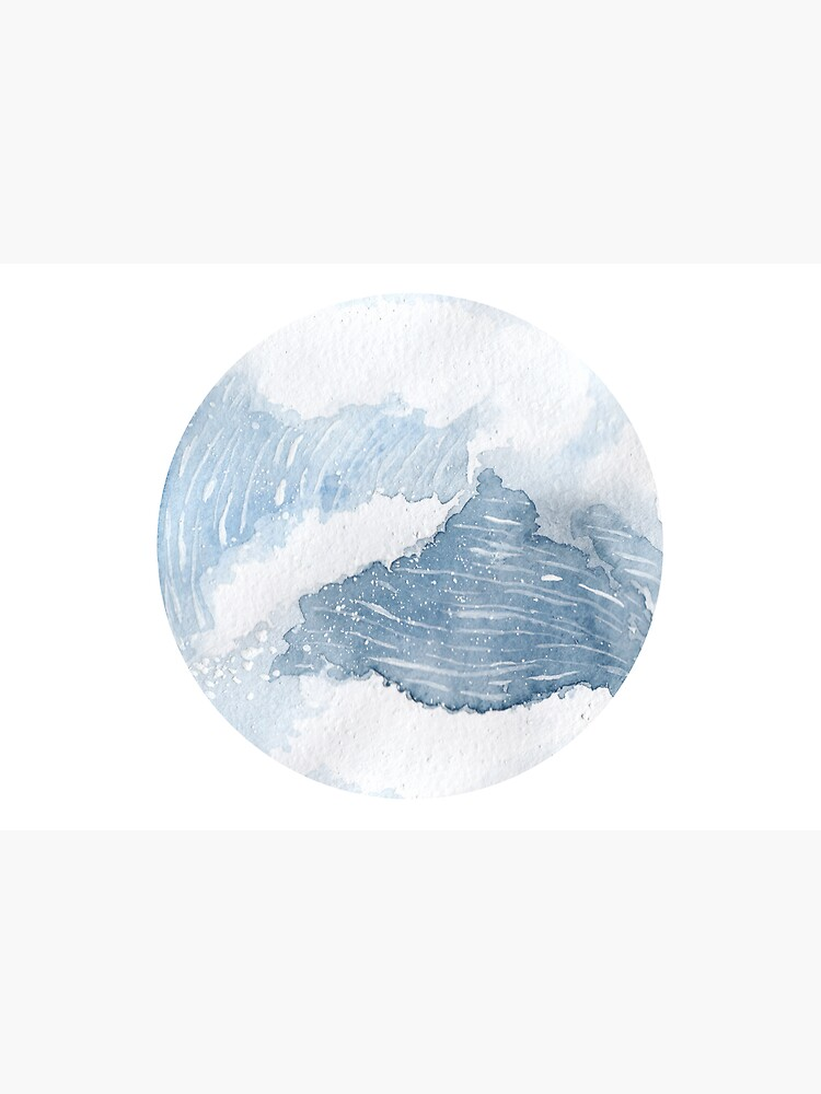 OCEAN WAVE WATERCOLOR by SouthPrints