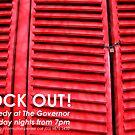 Lock Out! Comedy Flyer by emilykperkin