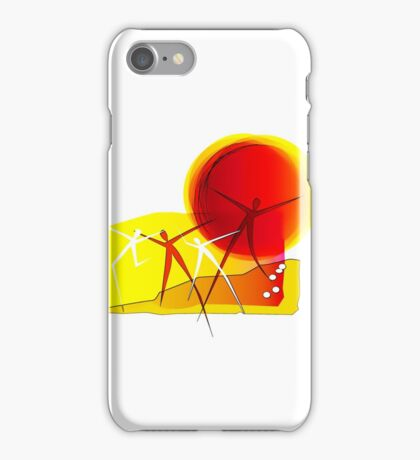Sun Dance! iPhone Case/Skin