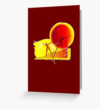 Sun Dance! Greeting Card