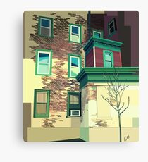 A House Is Not A Home Canvas Print