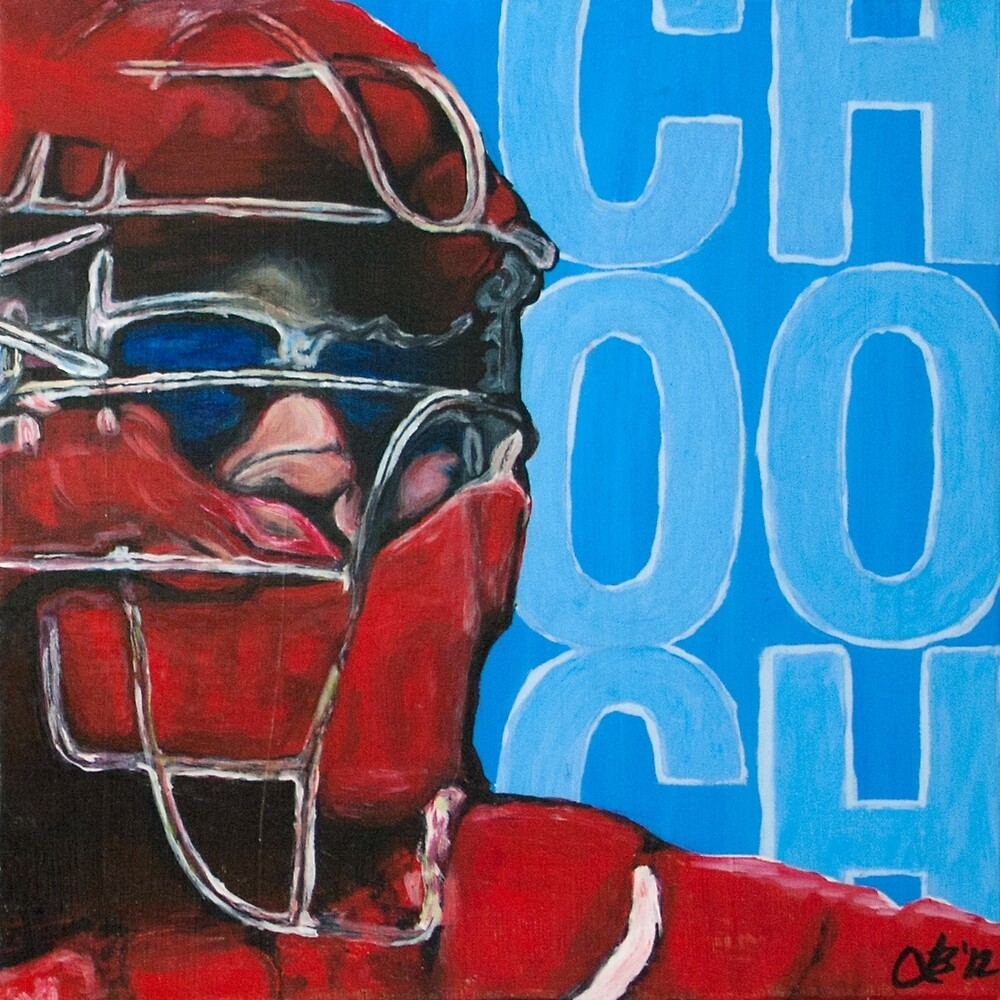 Carlos Ruiz Painting by Lindsey Butler