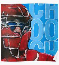 Carlos Ruiz Painting Poster