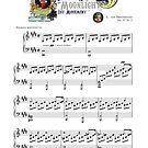 "Beethoven Piano Sonata No.14 ""Moonlight"" 1st Movement Music Sheet by AnimalComposers"
