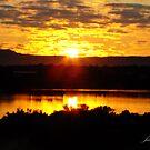 Sunrise over Port Augusta by JuliaKHarwood
