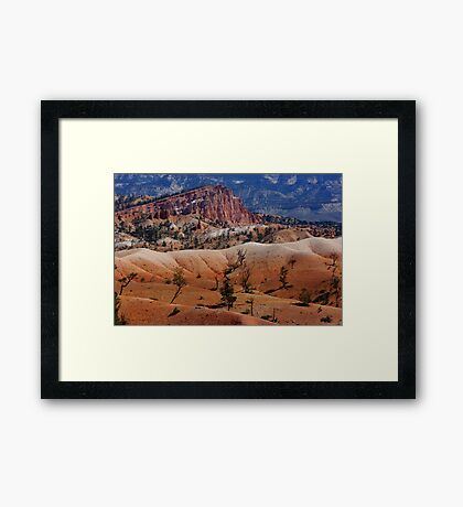 Colors of the Rainbow ~ Bryce Canyon, Utah USA Framed Print