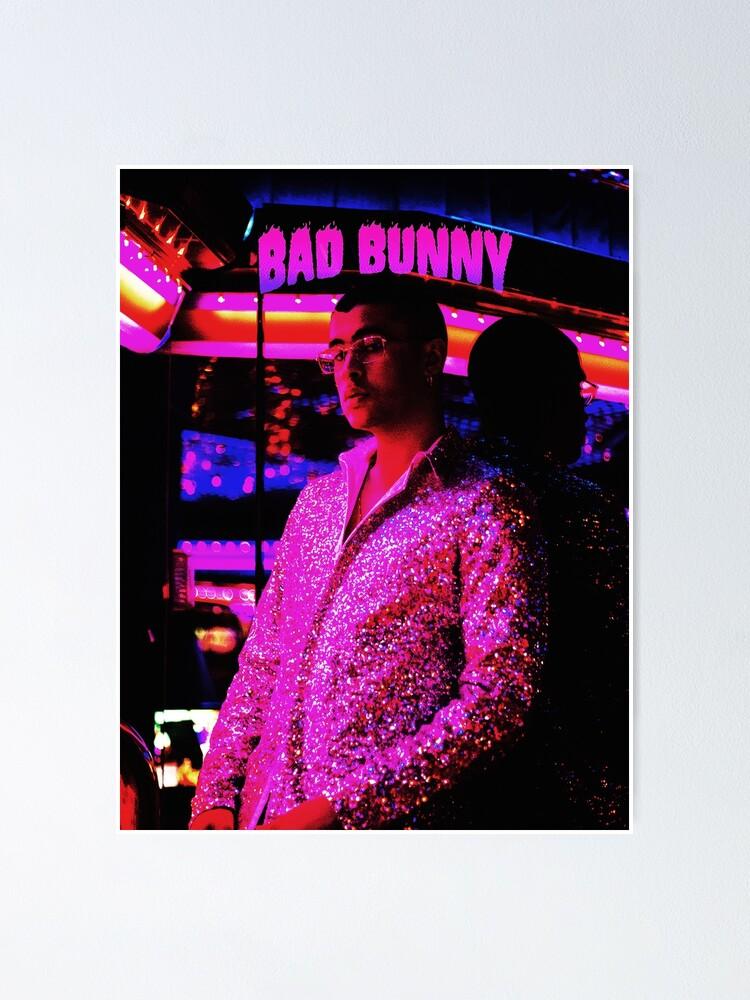 Alternative Ansicht von Stil Bad Bunny Tour 2019 Bedakan Poster