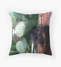 Prickly Post Throw Pillow