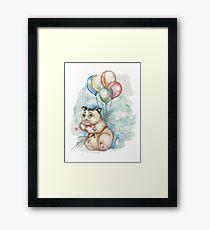 Hamster Hoze Framed Print