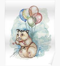 Hamster Hoze Poster