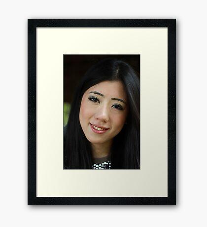Japanese Beauty Framed Print