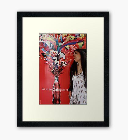 Mari Dreaming Framed Print