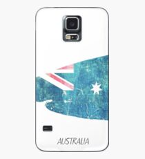 Australia map Shark Case/Skin for Samsung Galaxy