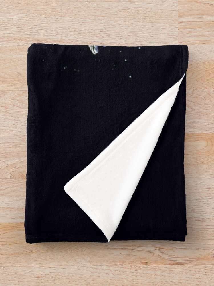 Alternate view of Space Travel Throw Blanket
