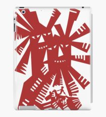 Quixote - Windmills and giants iPad Case/Skin