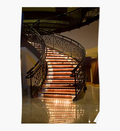 Stair Lights Poster