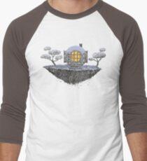 Floating Diver Home Sweet Home Men's Baseball ¾ T-Shirt