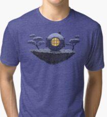 Floating Diver Home Sweet Home Tri-blend T-Shirt