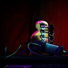theatre, the bass guitar head by mirekkrejci