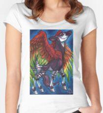 GirlKapi Women's Fitted Scoop T-Shirt