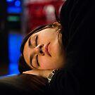 theatre, a girl sleeping by mirekkrejci