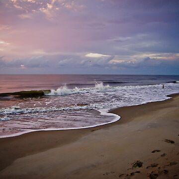 Walk on the Beach by blutat2