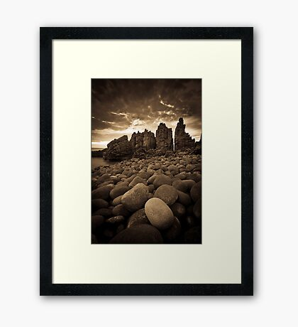 ... in a gazillion years time Framed Print