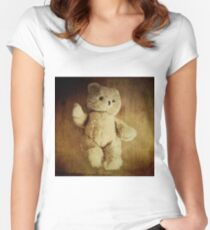 Old Teddy Bear Women's Fitted Scoop T-Shirt