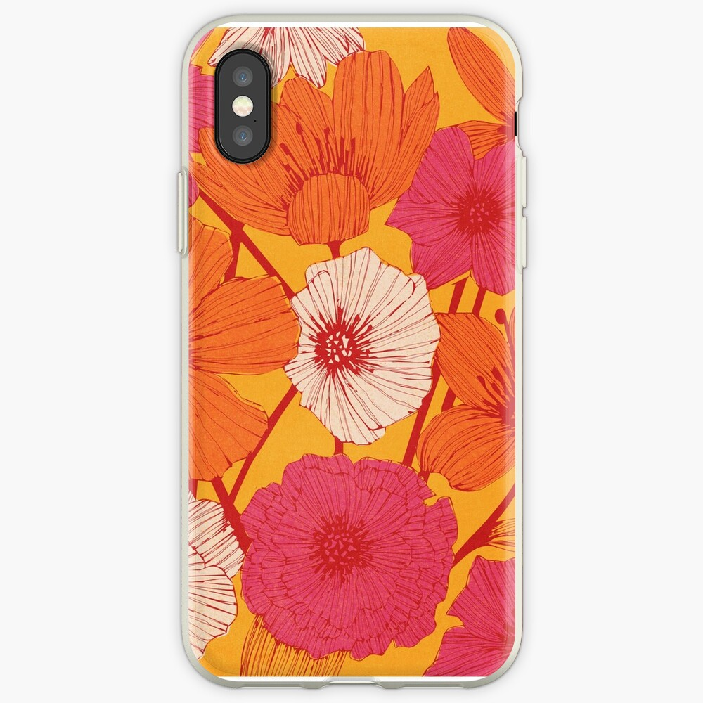 Sommerblumen iPhone-Hülle & Cover