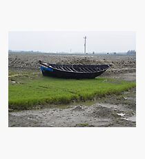 Abandoned Boat Photographic Print