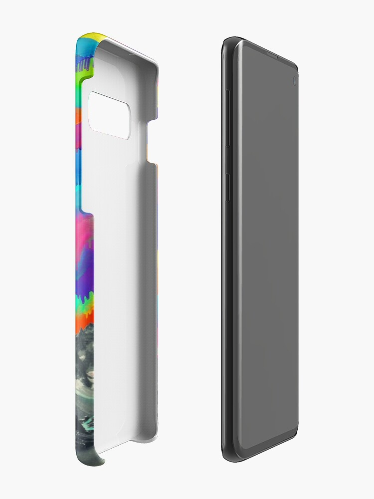 Alternate view of Skyfall, Melting Northern Lights Case & Skin for Samsung Galaxy