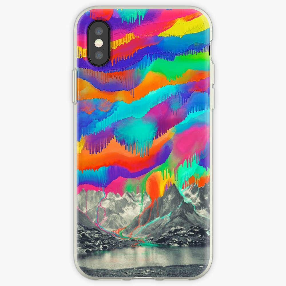 Skyfall, Melting Northern Lights iPhone Case & Cover