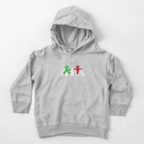 ampelmannchen on crosswalk Toddler Pullover Hoodie
